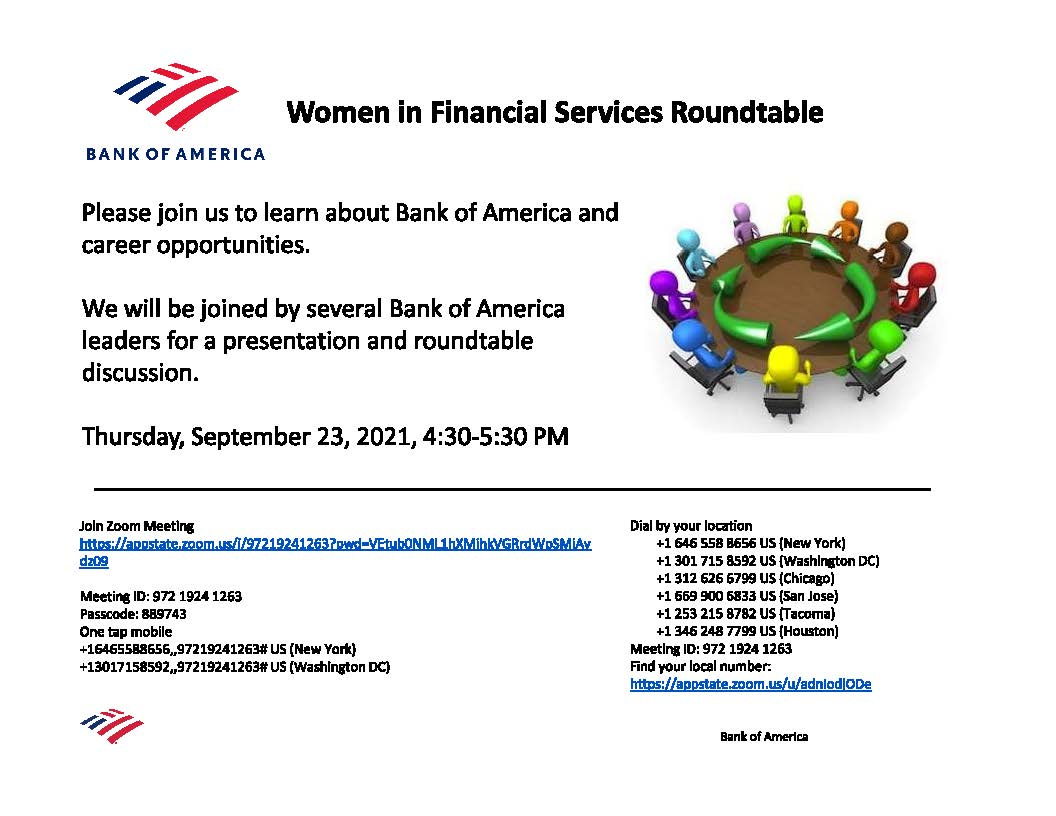 WIFS Bank of America Panel 9/23/21
